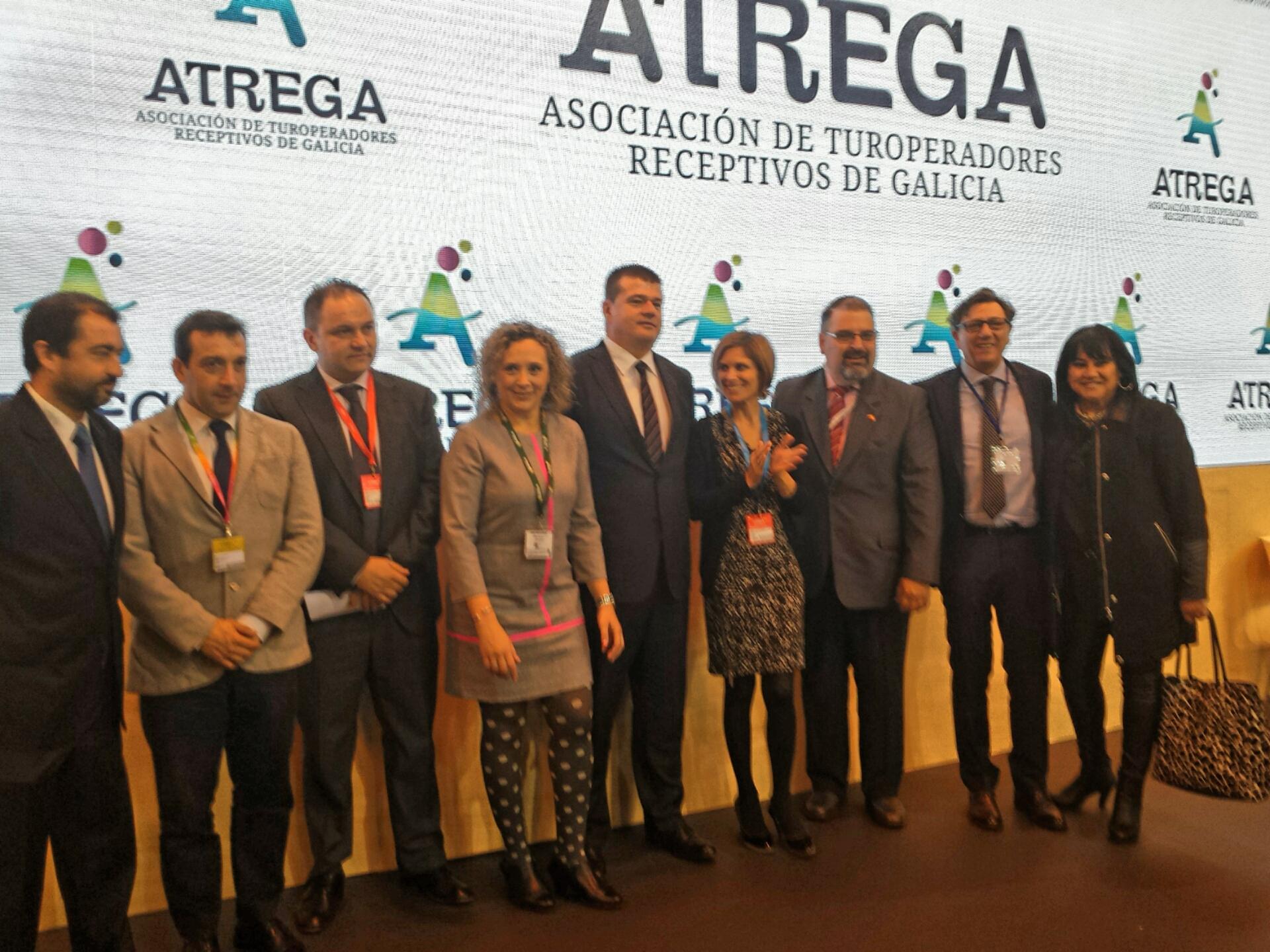 La Asociación de Turoperadores Receptivos de Galicia, ATREGA, se presenta en FITUR
