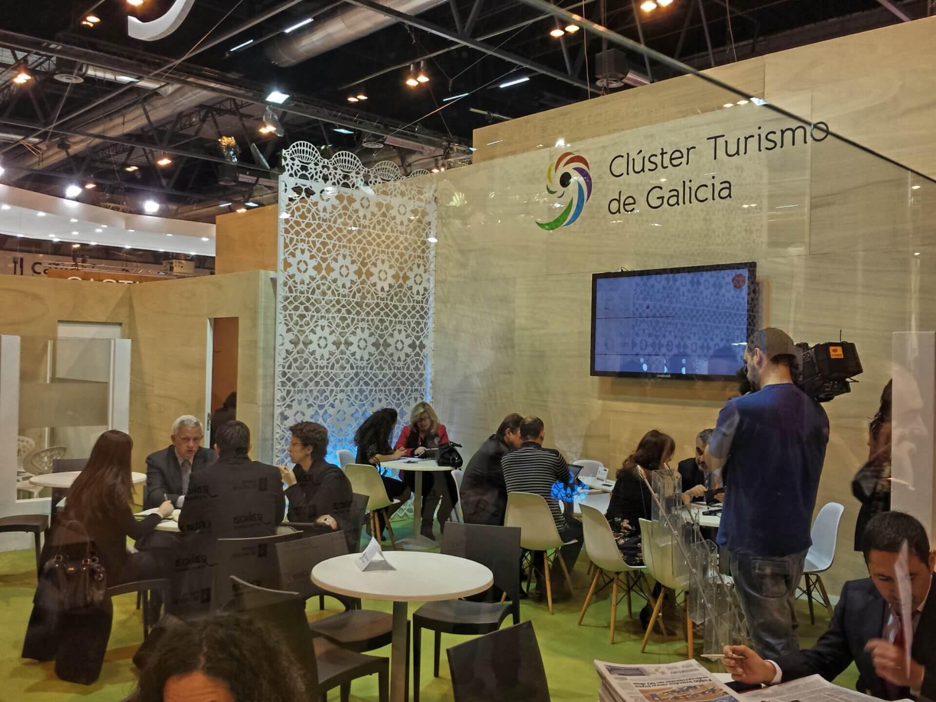 Las mesas de trabajo del Clúster en Fitur gestionaron en torno a 200 nuevos contactos