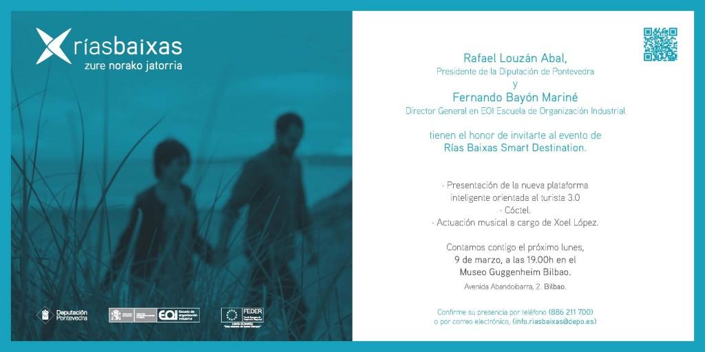 Invitación presentación Rías Baixas Bilbao