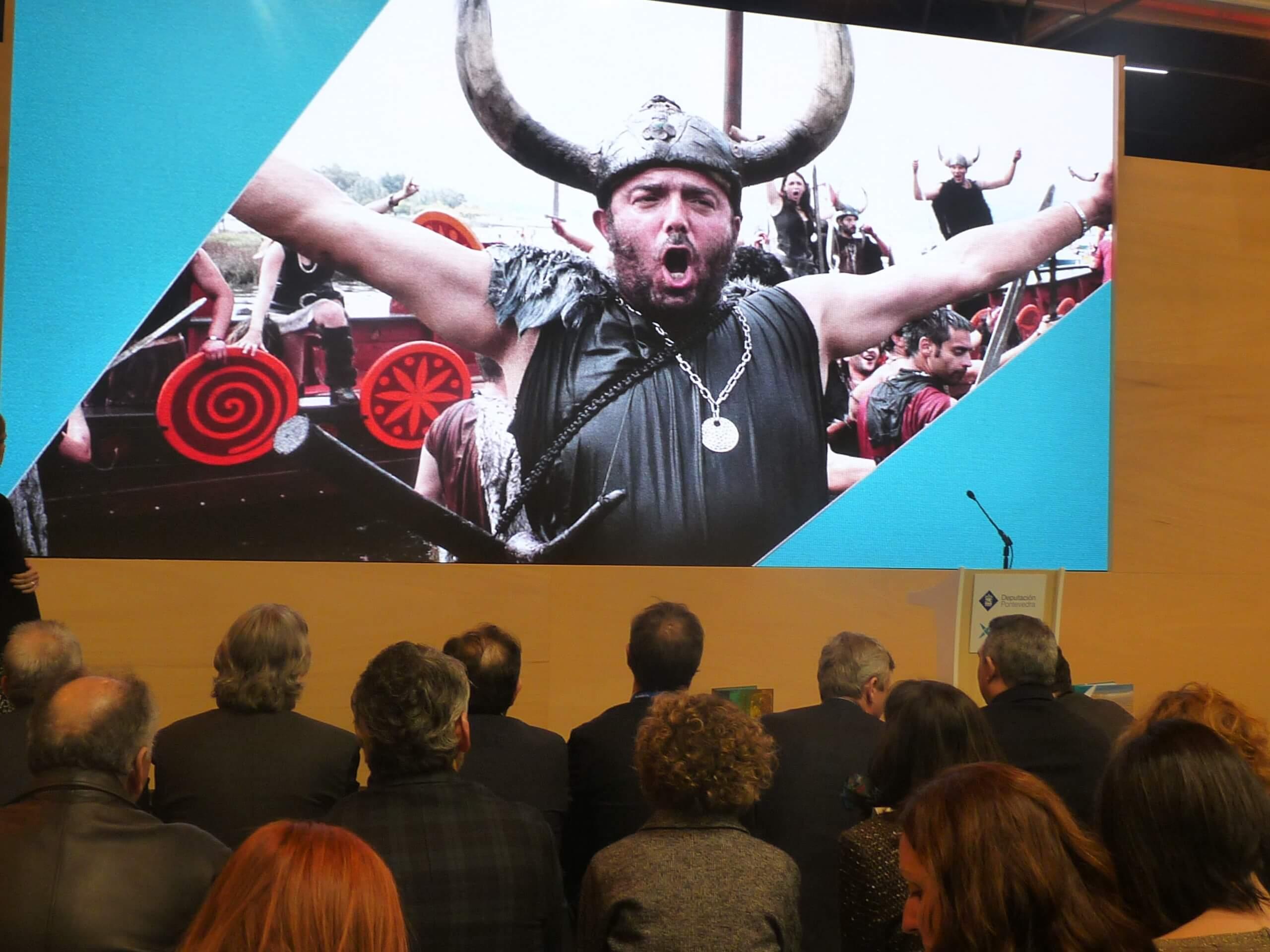 Catoira presentou na Feira Internacional de Turismo de Madrid a súa festa de Interese Turístico Internacional, a Romería Vikinga