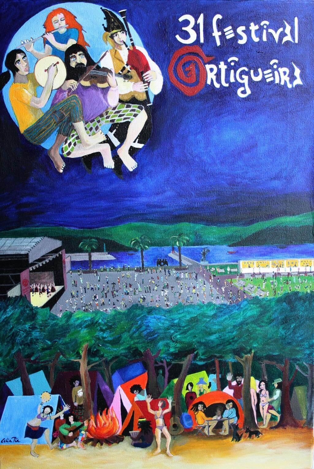 Y el cartel para la nueva edición del Festival de Ortigueira es...
