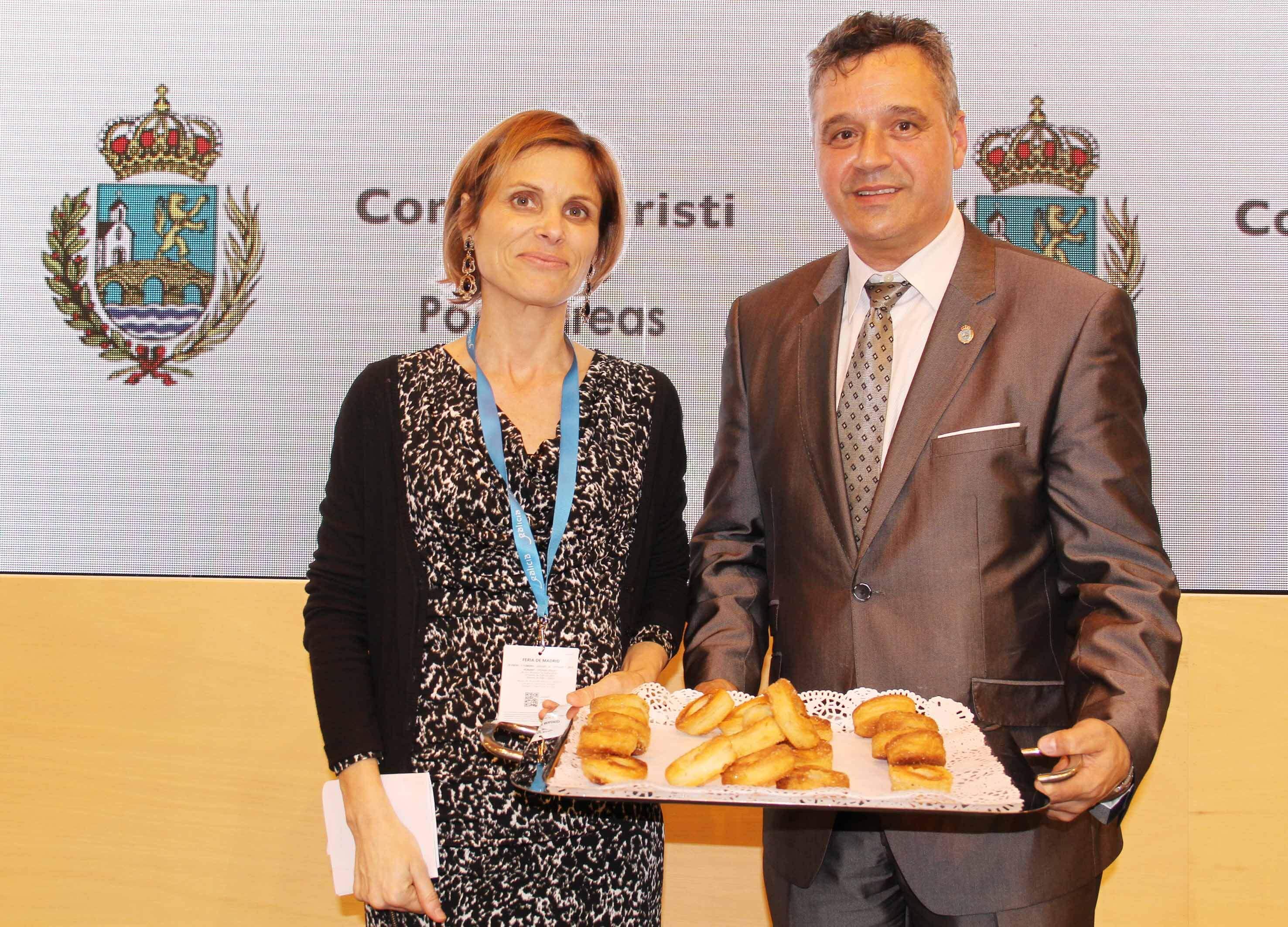 O Corpus Christi de Ponteareas, máis que unha experiencia turística, viaxou a Madrid