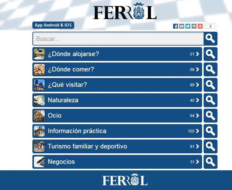 Nuevas tecnologías y tradición, la apuesta de Ferrol en Fitur