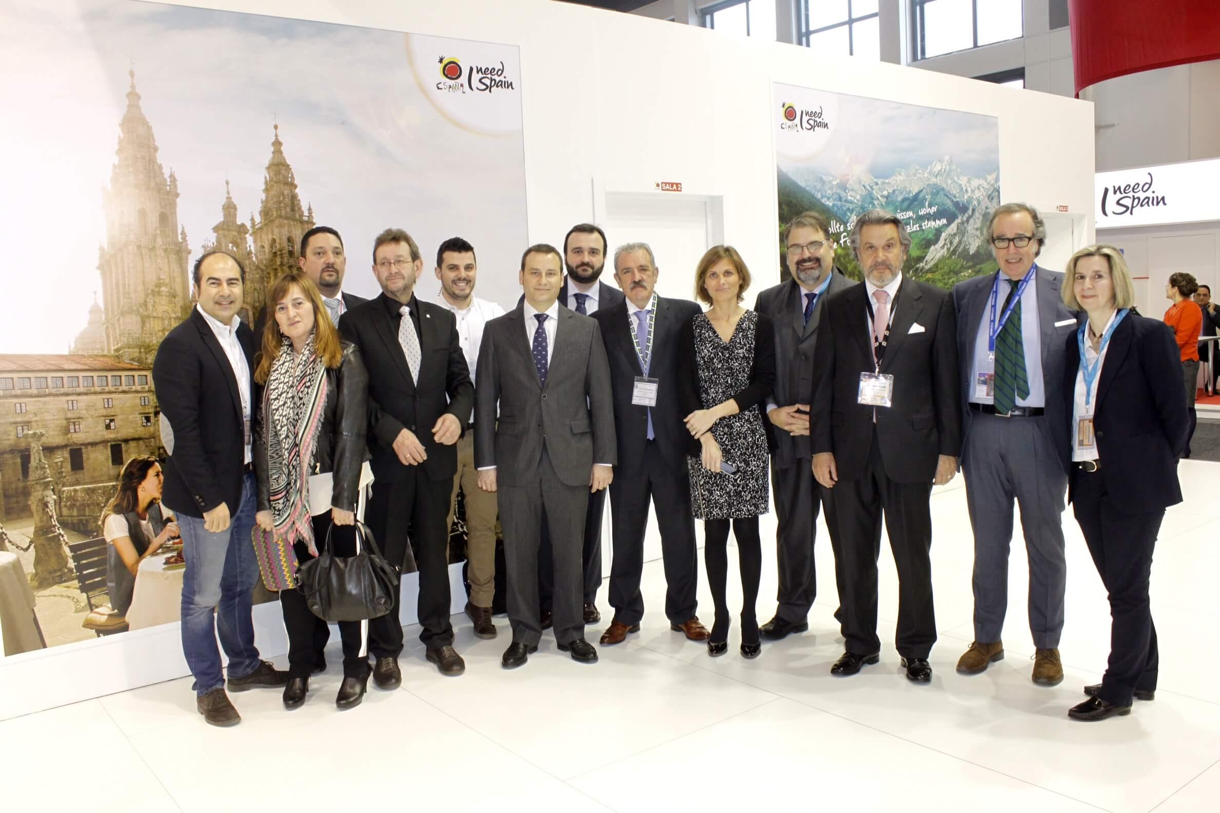 El Clúster Turismo de Galicia, presente en la ITB de Berlín con un espacio de trabajo para sus asociados