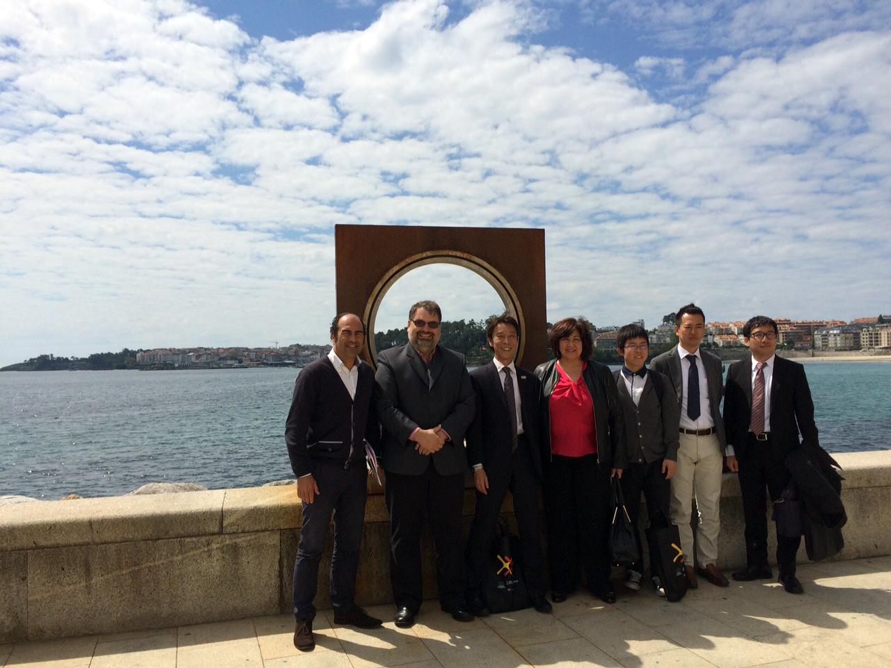 Una delegación de agentes de viajes de Japón visitan Galicia para familiarizarse con su oferta turística