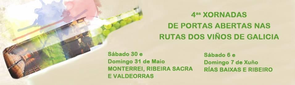 Cuenta atrás para la IV edición de las Jornadas de Puertas Abiertas en las Rutas del Vino de Galicia