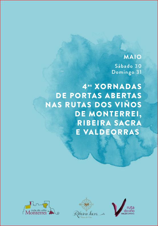 Monterrei, Ribeira Sacra e Valdeorras se preparan para su Jornada de Puertas Abiertas en las Rutas del Vino de Galicia