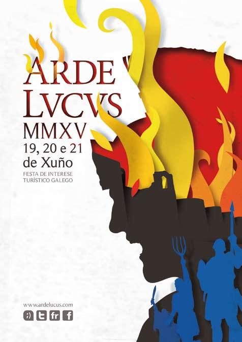 Arde Lucus vuelve a sumergir a Lugo en la época romana