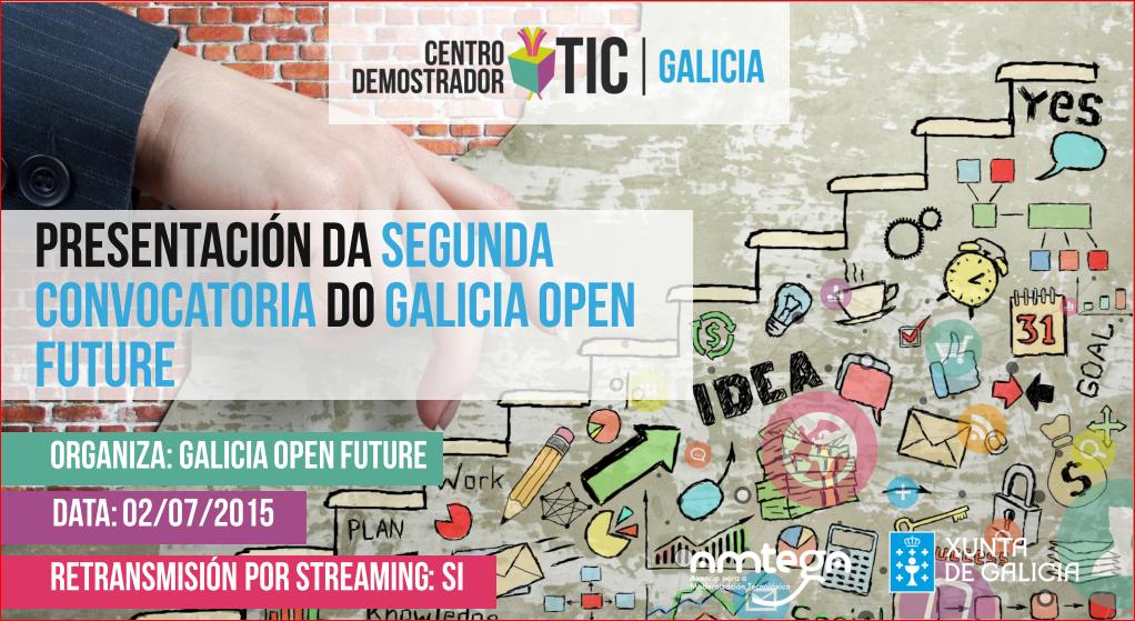 Galicia Open Future presenta o vindeiro 2 de xullo a súa segunda edición