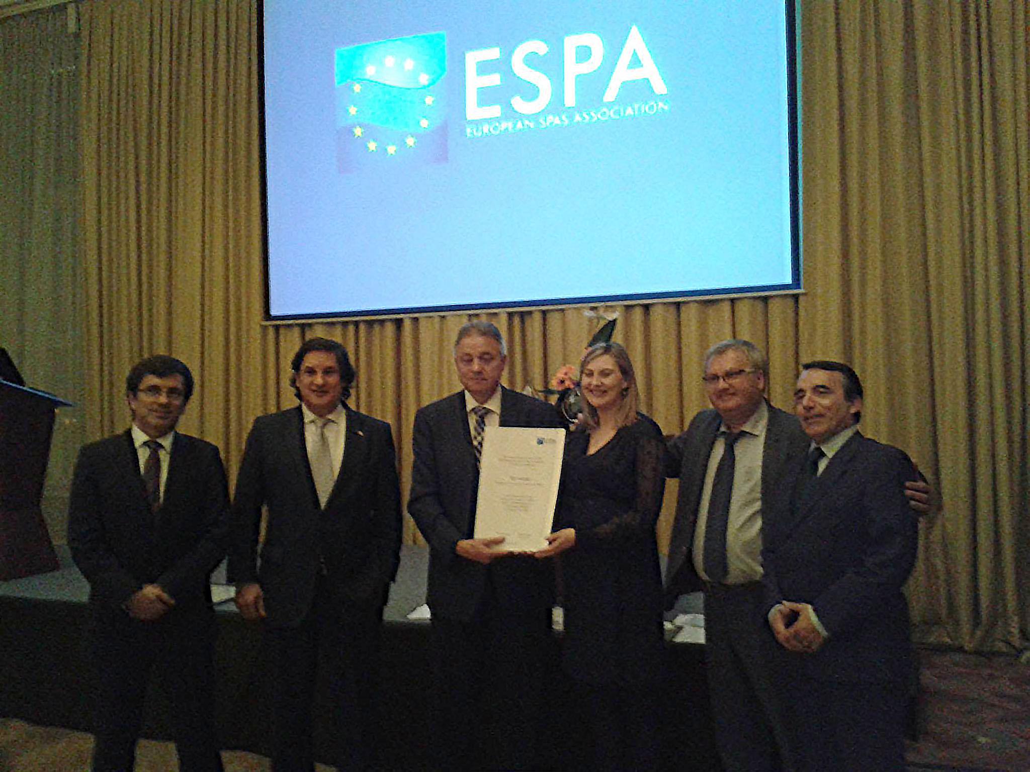 Termatalia recibe el reconocimiento de la European Spa Association a su trayectoria y promoción del termalismo