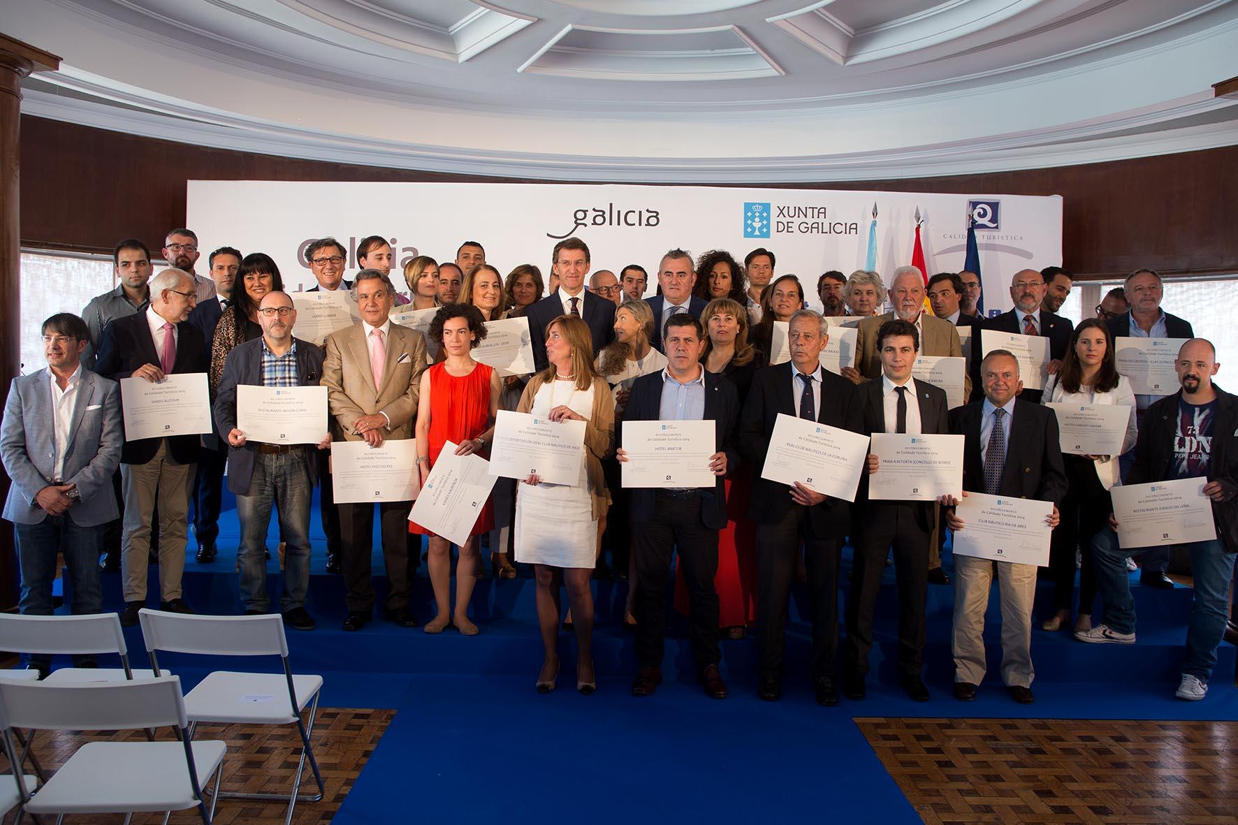 Núñez Feijoo destaca la labor de la Axencia de Turismo de Galicia y del Clúster del Turismo para convertir a Galicia en un destino diversificado