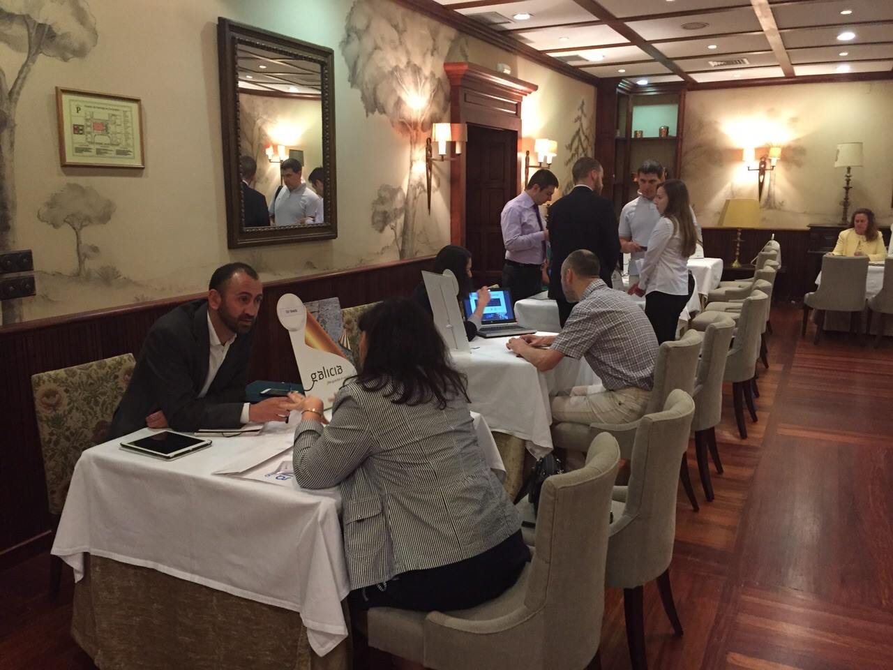 Encontro de operadores turísticos e xornalistas rusos co sector e coa oferta turística galega