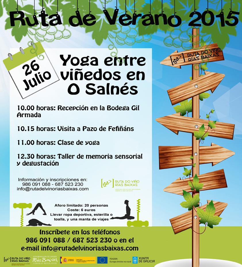 La Ruta do Viño Rías Baixas lanza su programación de actividades para este verano