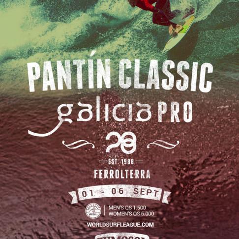 Pantín Classic Galicia Pro volve reunir en Galicia o mellor do surf feminino mundial