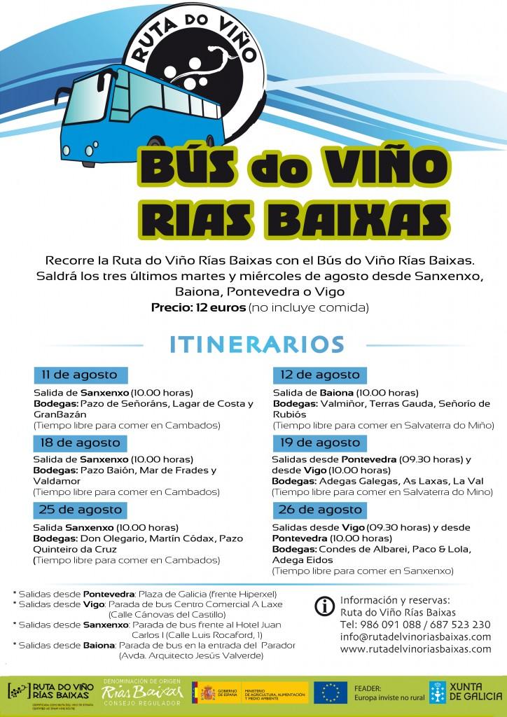 Bus do Viño Ruta do Viño Rías Baixas
