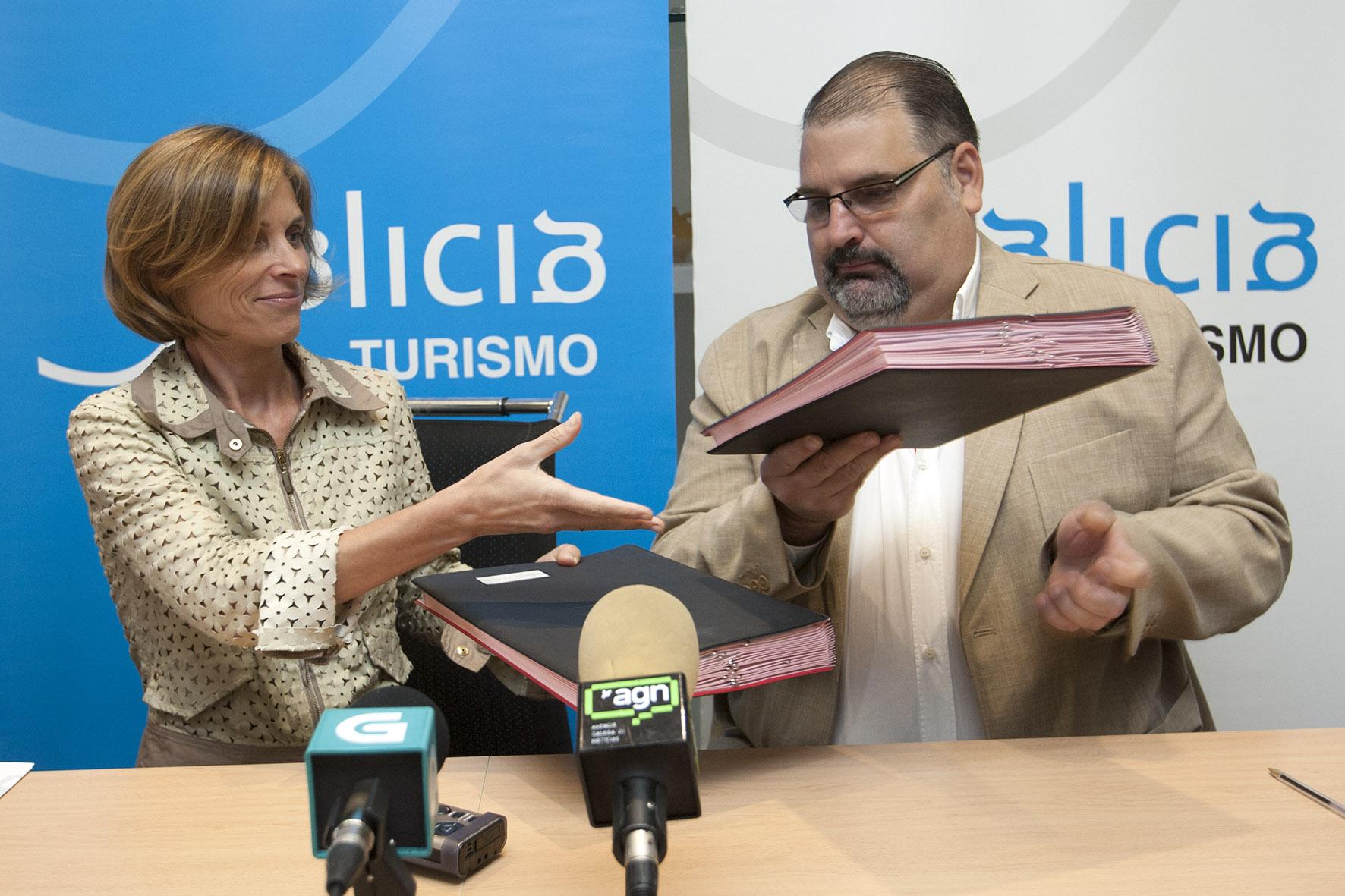 Nuevo convenio de colaboración entre Turismo de Galicia y Clúster del Turismo para la implantación de nuevas tecnologías y mejora de la formación del sector