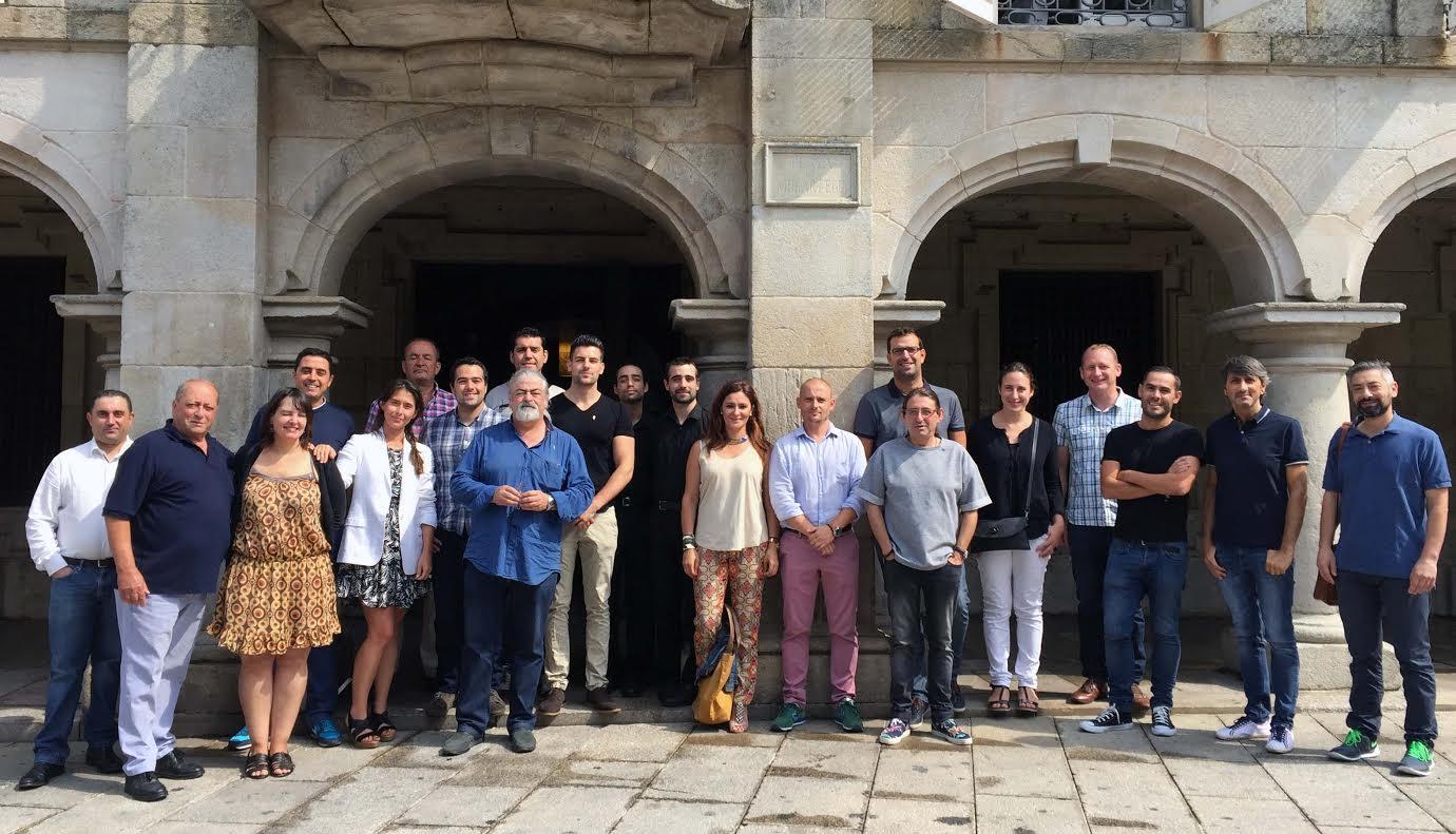 Gallaecia evalúa los vinos de Rías Baixas que optarán a sus premios Distinguidos 2015