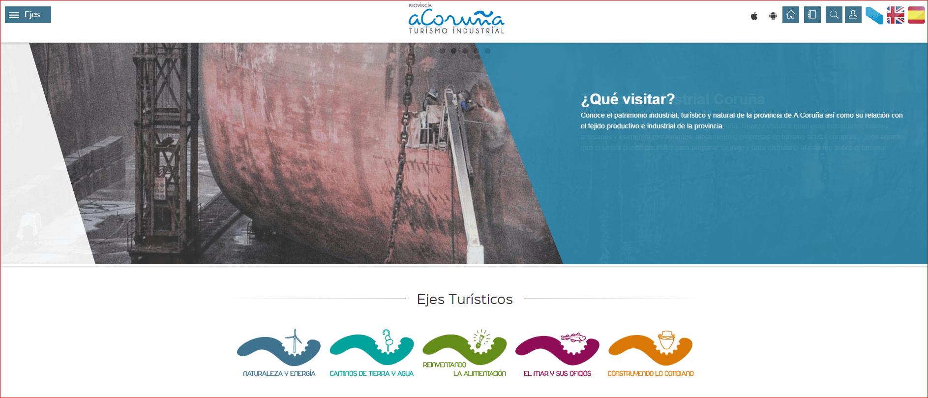 """68 empresas conforman la plataforma """"Turismo Industrial en la provincia de A Coruña"""" para el impulso de un producto turístico innovador en la provincia"""