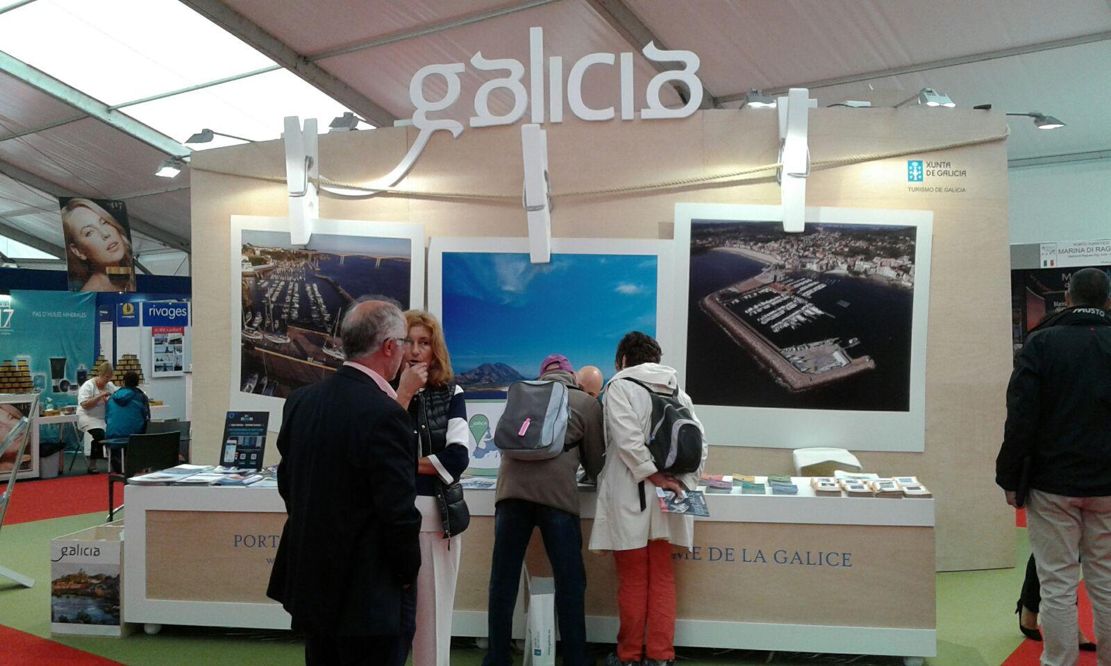 Turismo de Galicia, Portos de Galicia, Asnauga y Marinas de Galicia, presentes no Salón Náutico Grand Pavois