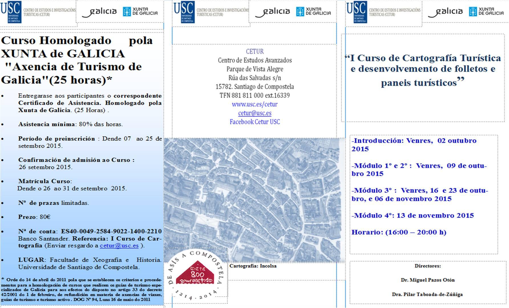 CETUR lanza su primer Curso de Cartografía Turística