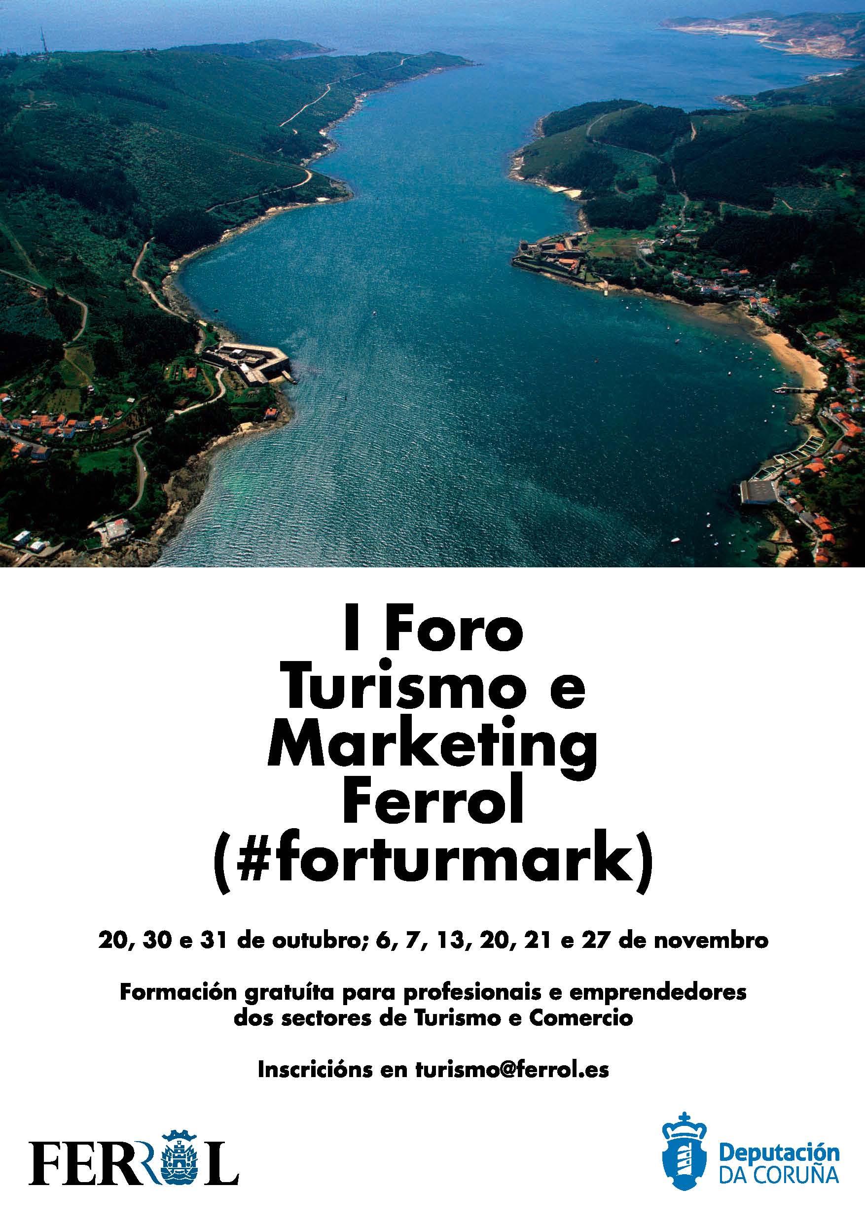 Formación turística para o sector turístico da comarca de Ferrolterra en outubro e novembro