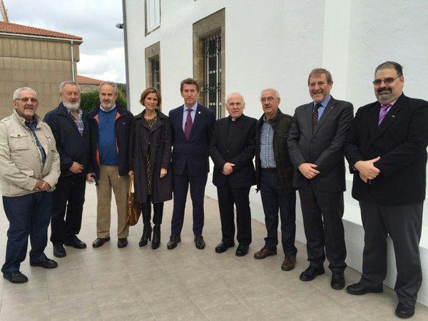 Inauguración oficial del Centro Internacional de Acogida de Peregrinos, que funcionará en 2016