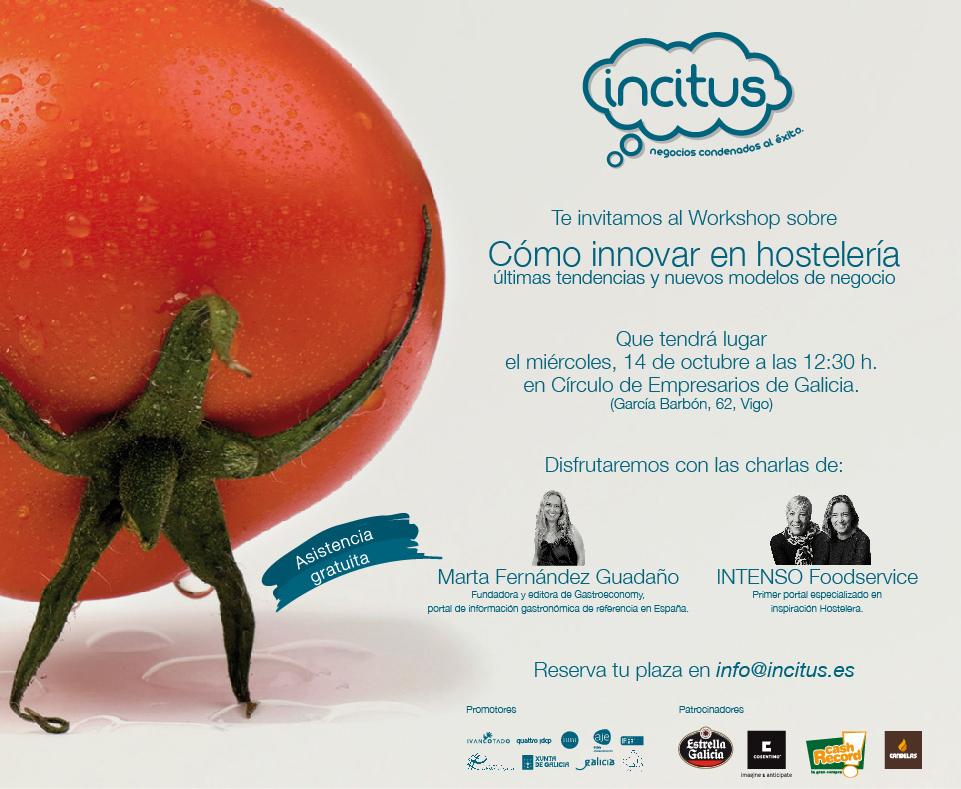 Vigo acogió un nuevo taller de Incitus para la innovación hostelera