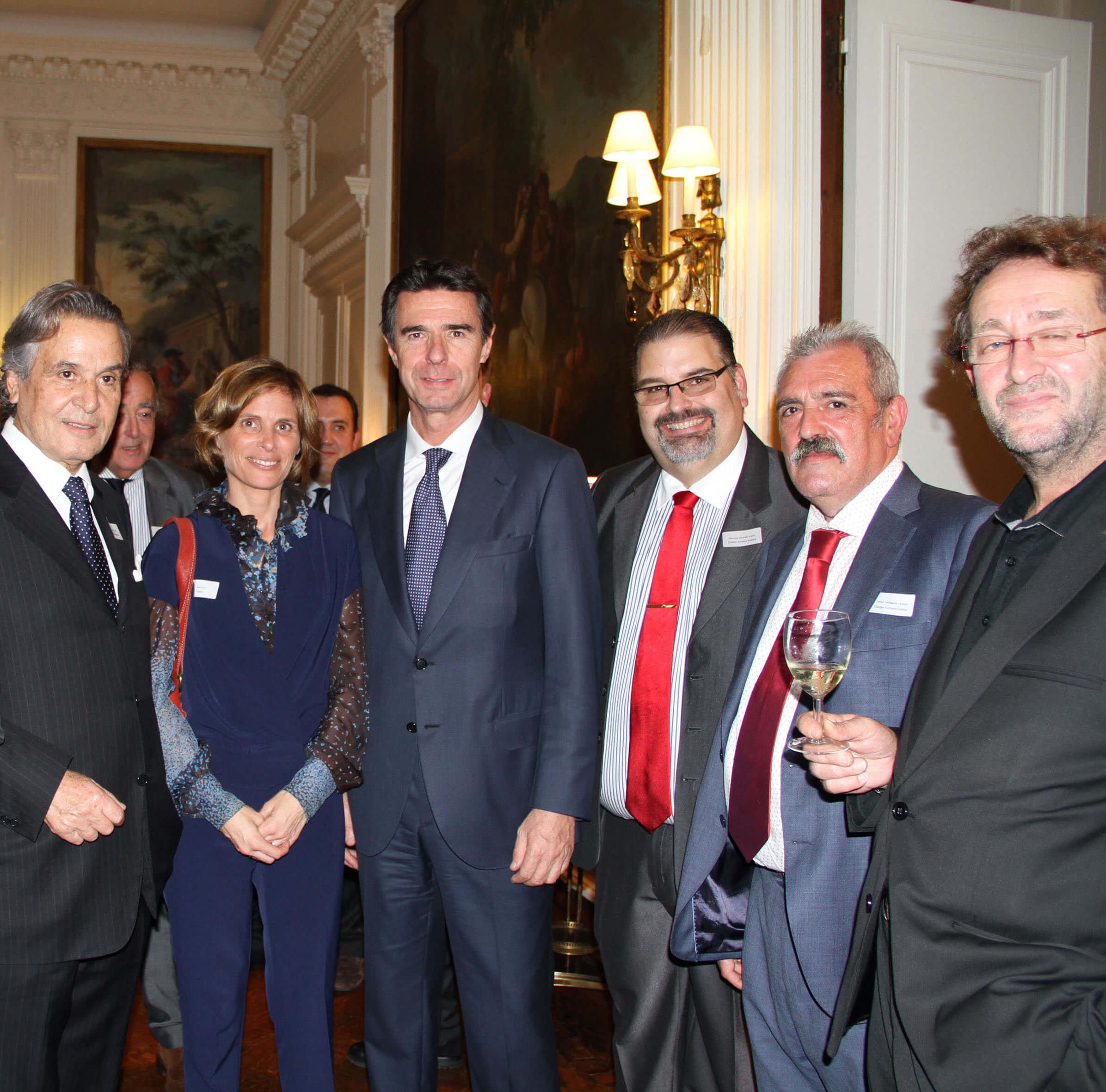 Una delegación del CTG participa en la recepción en la embajada de España en Londres
