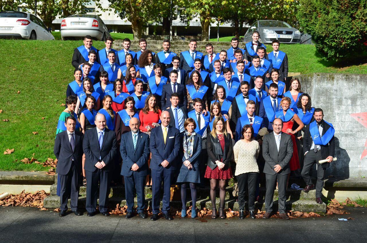 Nueva promoción de profesionales del Centro Superior de Hostelería de Galicia