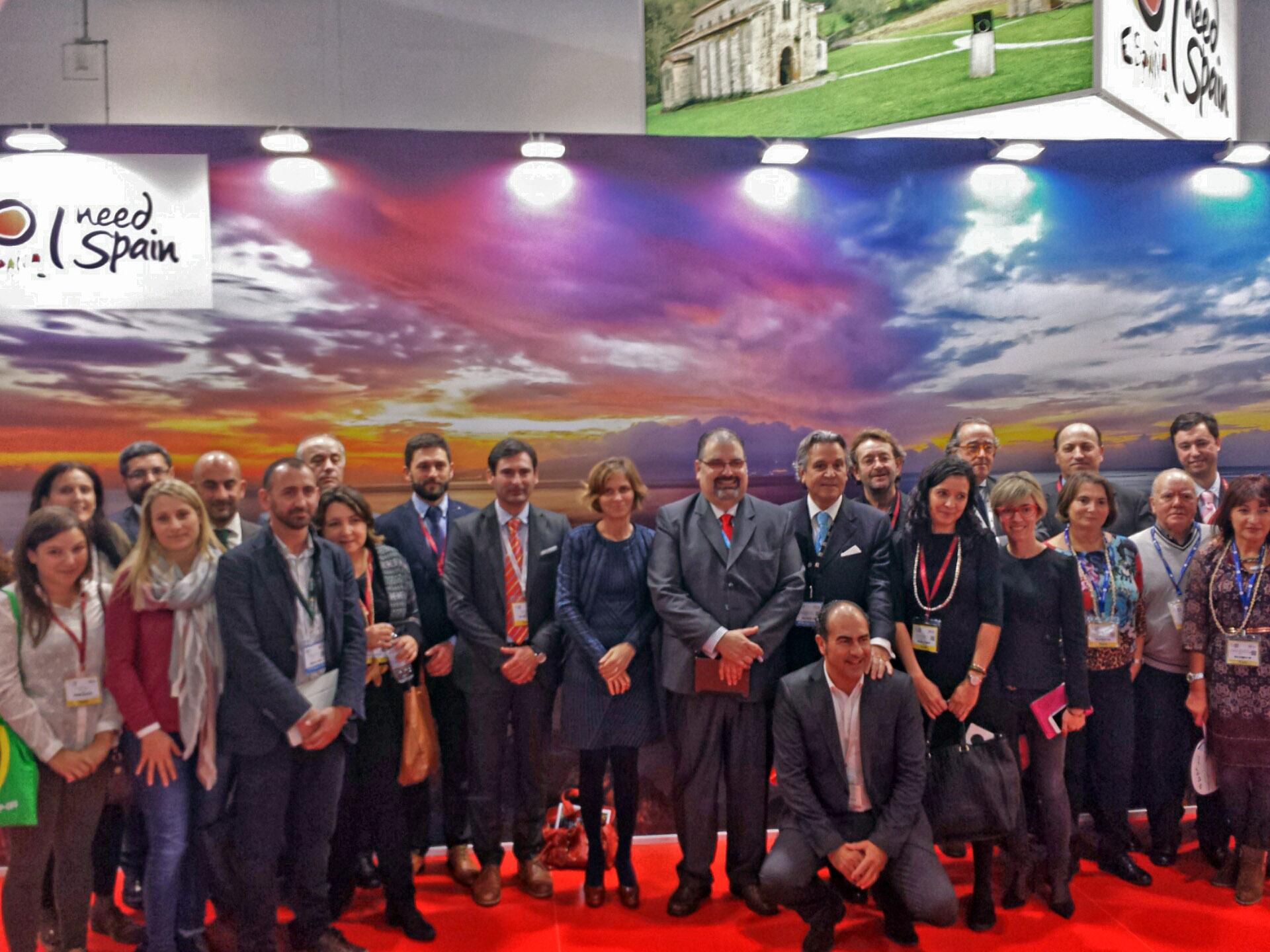 Concluye con excelentes sensaciones y numerosos contactos la misión comercial del Clúster en la World Travel Market de Londres