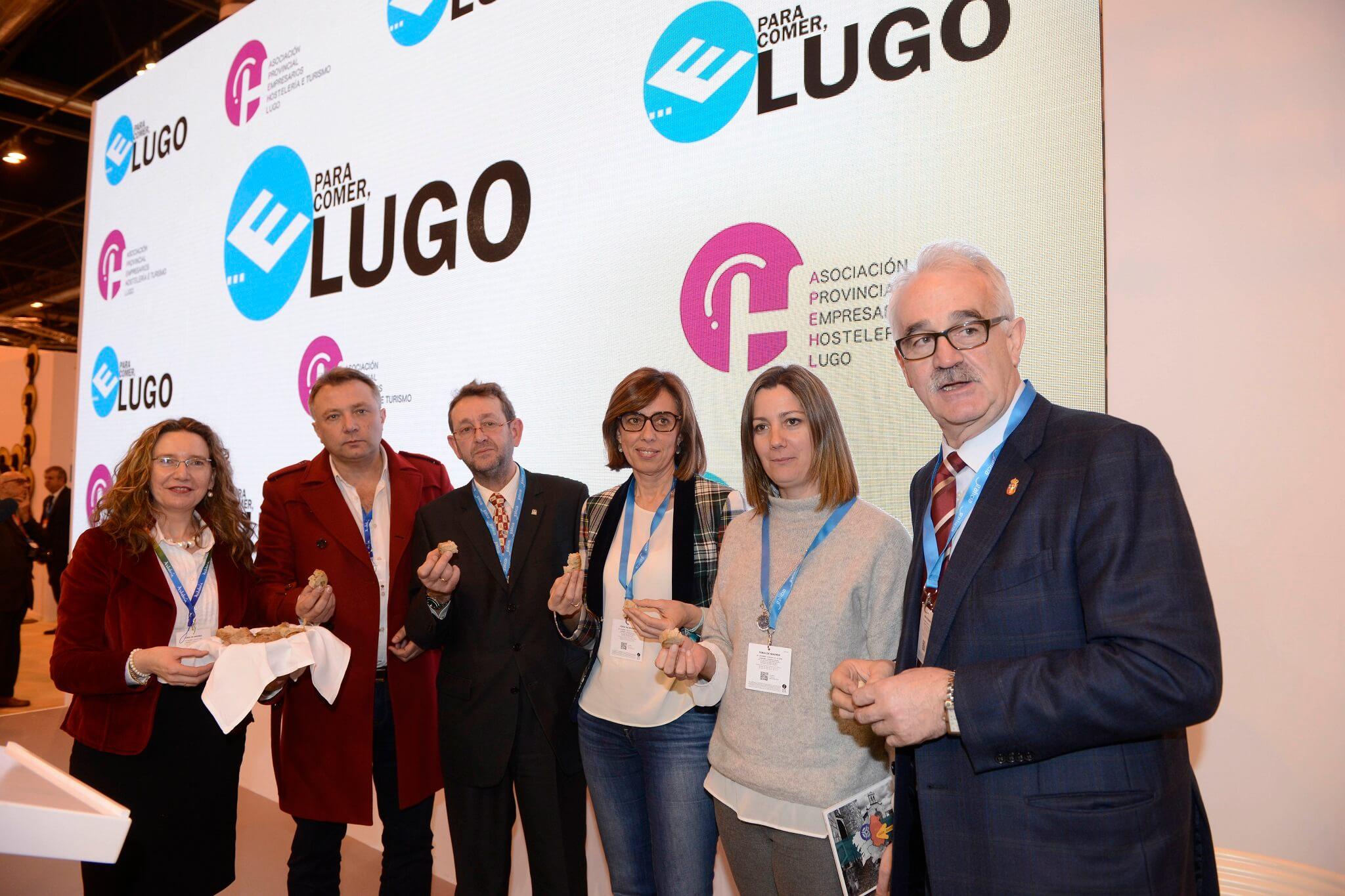 Fitur acolleu a presentación da nova edición da guía E para comer... Lugo, ferramenta de promoción turística e gastronómica da provincia