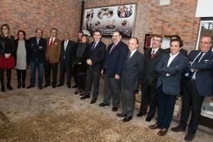 Alberto Núñez Feijoo y Nava Castro se reunieron con el Clúster en el CSHG