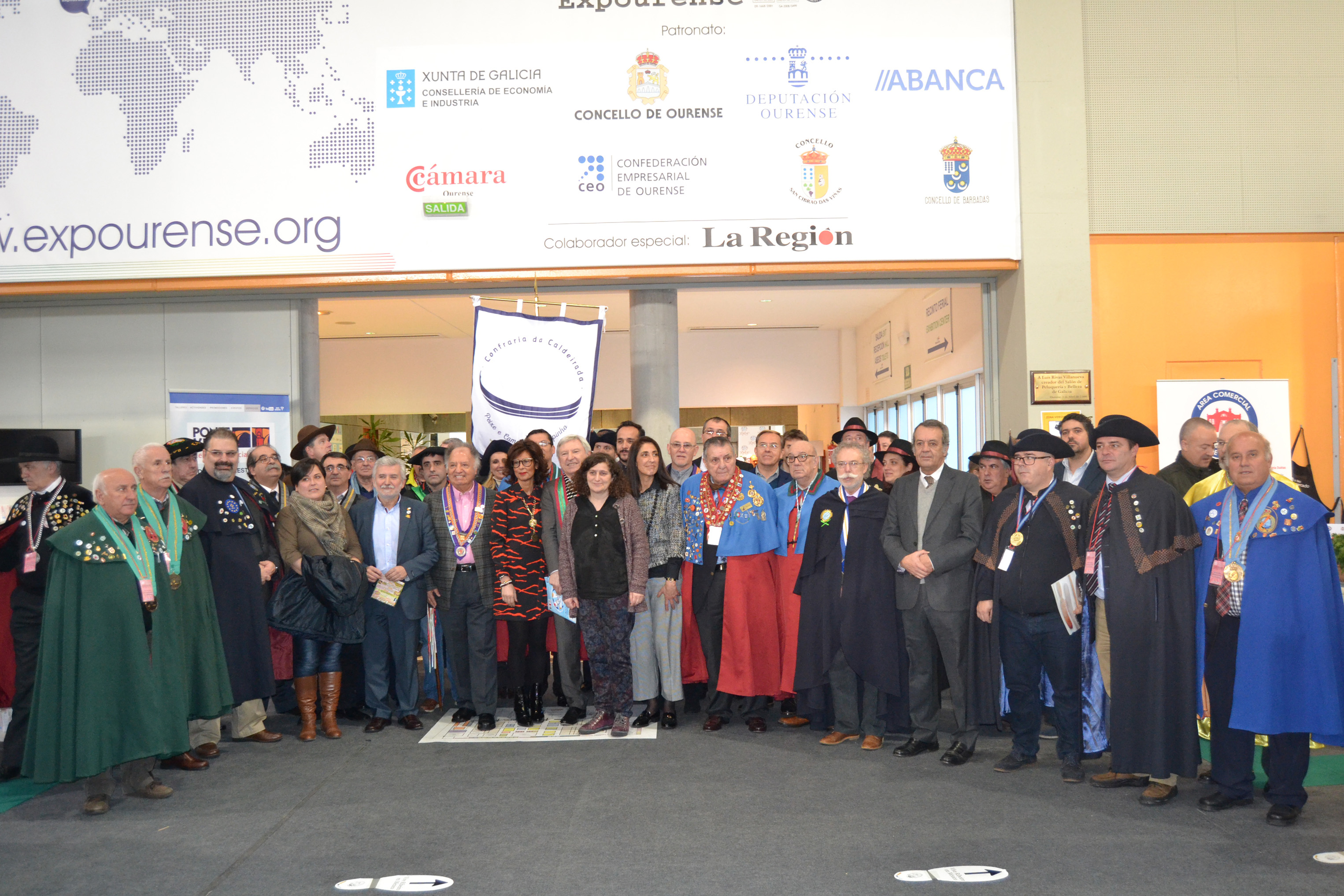 Más de 40 cofradías se dieron cita en Xantar en su 12ª Encuentro Internacional