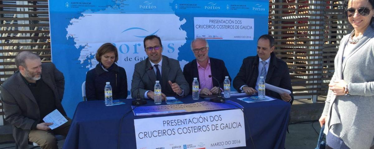 Presentación Cruceros Costa Galicia