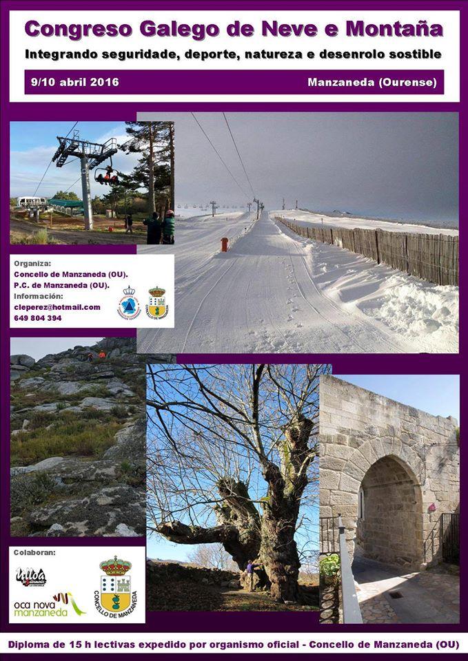 [:es]Manzaneda acoge el primer Congreso Gallego de Nieve y MontañaManzaneda acolle o primeiro Congreso Galego de Neve e MontañaManzaneda Galician hosts the first Congress on Snow and Mountain