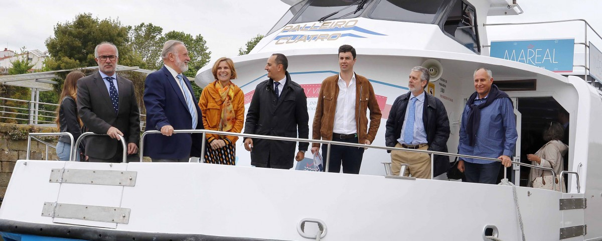 Presentación Mini Cruceros Galicia