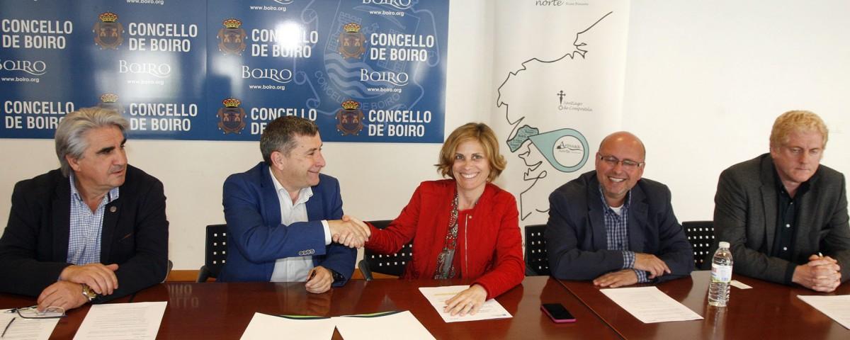 A directora de Turismo de Galicia, Nava Castro, asinará un convenio de colaboración co presidente da Mancomunidade de Municipios Ría de Arousa Zona Norte, Manuel Rivas, para a promoción do turismo no xeodestino.