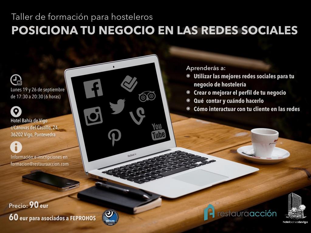 [:es]Taller formativo en redes sociales de Feprohos Taller formativo en redes sociais de Feprohos Feprohos offer a training workshop on social networks