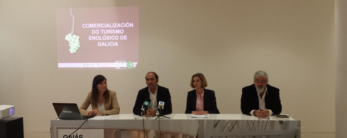 Presentación comercialización enoturismo Galicia Emociones