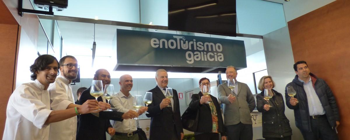Enoturismo Galicia presentación Santiago
