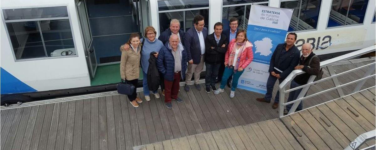 mesa de trabajo pontevedra Estratexia Turismo de Galicia 2020