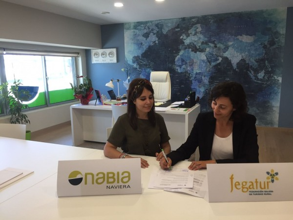 [:es]Acuerdo entre Naviera Nabia y FEGATUR para incrementar las estancias en el turismo ruralAcordo entre Naviera Nabia e FEGATUR para incrementar as estancias no turismo ruralAgreement between Naviera Nabia and FEGATUR to increase stays in rural tourism