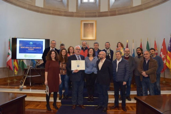 [:es]Os Ancares-Courel reciben el distintivo Observer de Turismo CientíficoOs Ancares-Courel reciben o distintivo Observer de Turismo CientíficoOs Ancares-Courel receive the Scientific Tourism Observer badge
