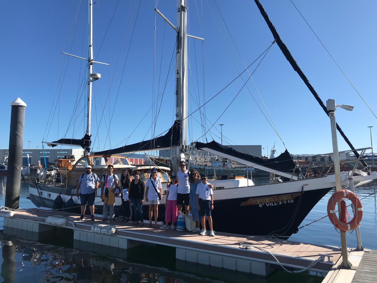 The Xunta promotes nautical crossings to travel the Camino de Santiago by sea from five Galician ports