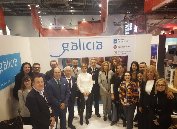 [:es]Empresarios gallegos participan desde hoy en la WTM de Londres, cita imprescindible para el sector turístico Empresarios galegos participan desde hoxe na WTM de Londres, cita imprescindible para o sector turístico Galician businessmen participate from today in the WTM of London, essential appointment for the tourist sector