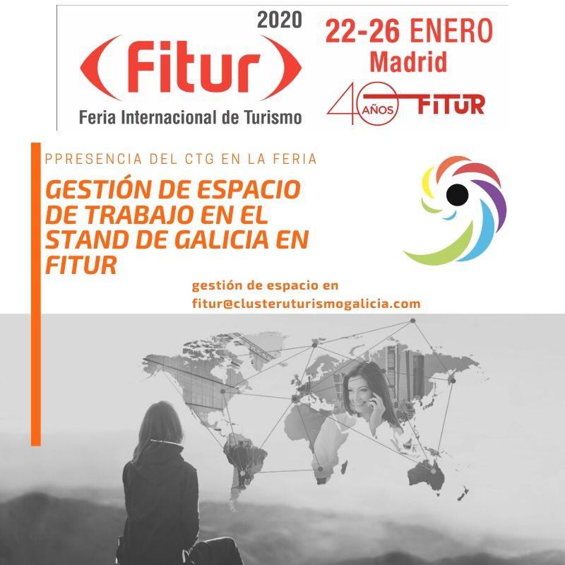 Participación del Clúster Turismo de Galicia en Fitur