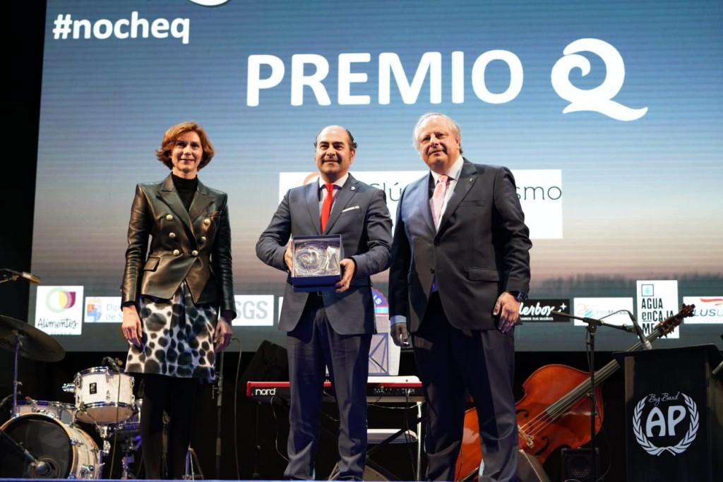 El Clúster de Turismo de Galicia recibió el Premio Q de Calidad Turística durante la celebración de Fitur