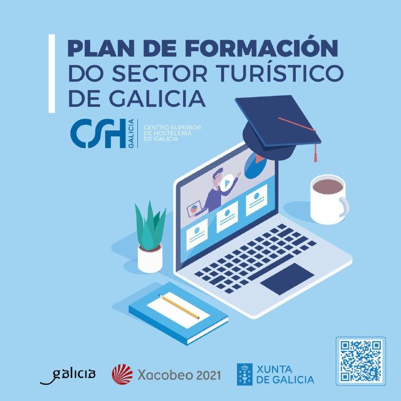 Catro novos webinars da Consellería de Cultura e Turismo completan o plan de teleformación para o sector turístico galego