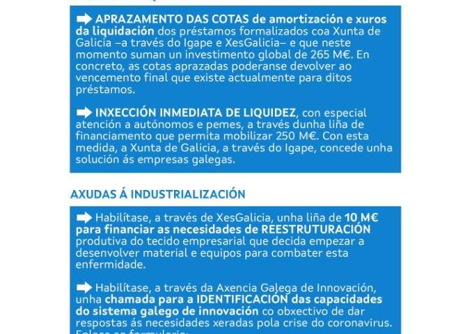 medidas coronavirus igape galicia