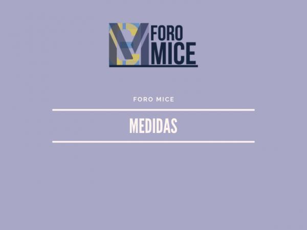 [:es]El Foro MICE traslada medidas fiscales, laborales y financieras para apoyar al sector de congresos e incentivos frente a la crisis del coronavirusO Foro MICE traslada medidas fiscais, laborais e financeiras para apoiar ao sector de congresos e incentivos fronte á crise do coronavirusMICE Forum moves fiscal, labor and financial measures to support the congress sector and incentives in the face of the coronavirus crisis